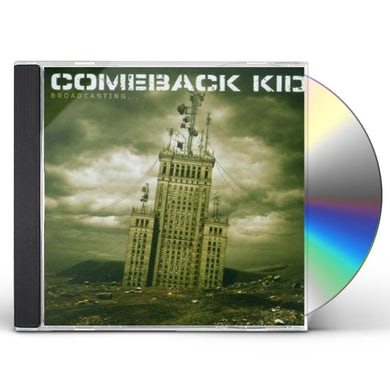 Comeback Kid BROADCASTING CD