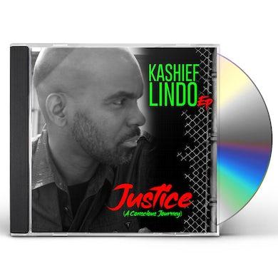 Kashief Lindo JUSTICE (A CONSCIOUS JOURNEY) CD