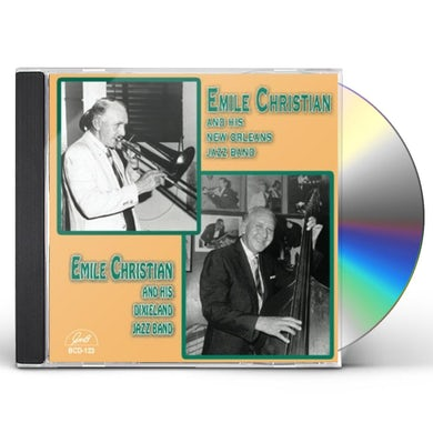 Emile Christian AND HIS NEW ORLEANS JAZZ BAND CD