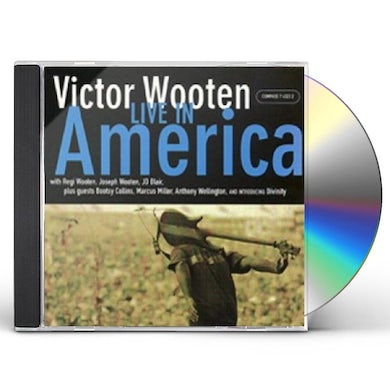 Victor Wooten LIVE IN AMERICA CD