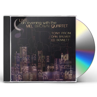 LIVE: AN EVENING WITH MEL BROWN CD
