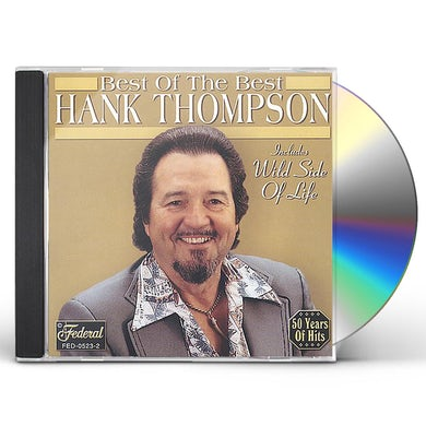 Hank Thompson BEST OF THE BEST CD