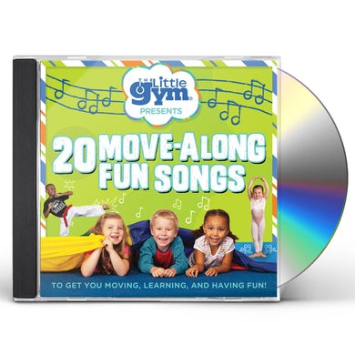 The Little Gym 20 Move-Along Fun Songs CD