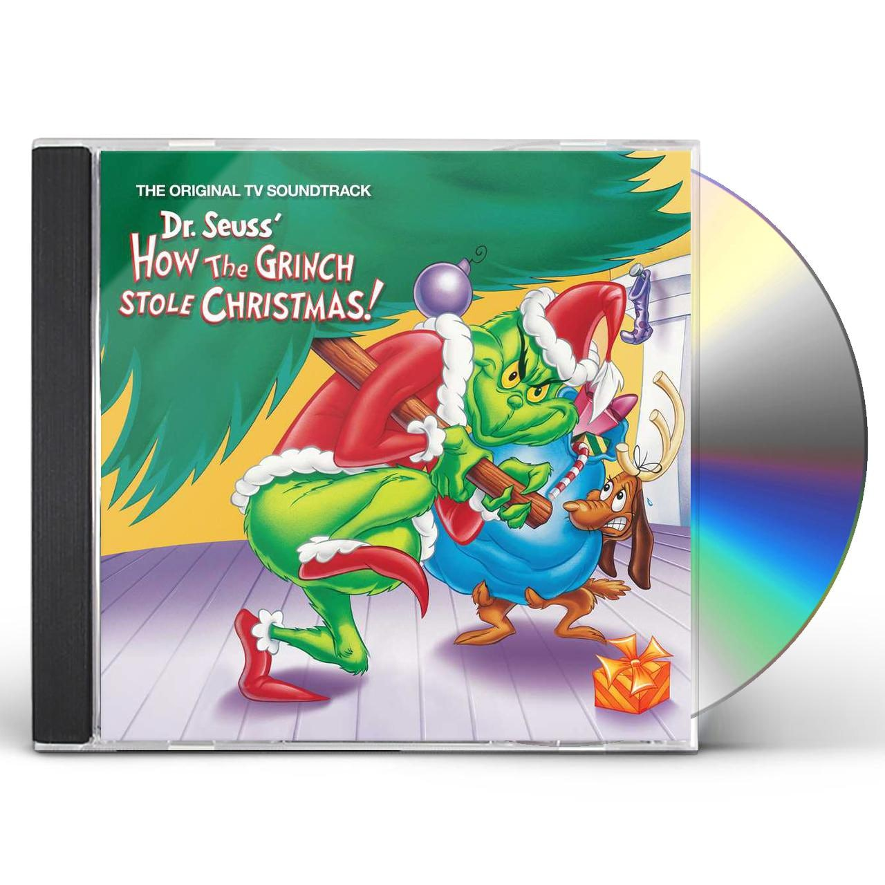 How The Grinch Stole Christmas Cast Animated.Dr Seuss How The Grinch Stole Christmas O S T Cd