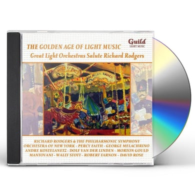 Richard Rodgers GREAT LIGHT ORCHESTRAS SALUTE CD