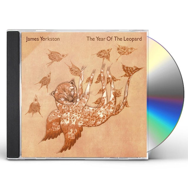 James Yorkston YEAR OF THE LEOPARD CD