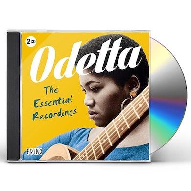 Odetta ESSENTIAL RECORDINGS CD