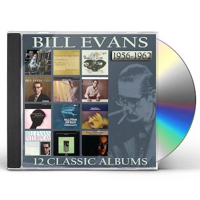 Bill Evans 12 CLASSIC ALBUMS: 1956-62 CD