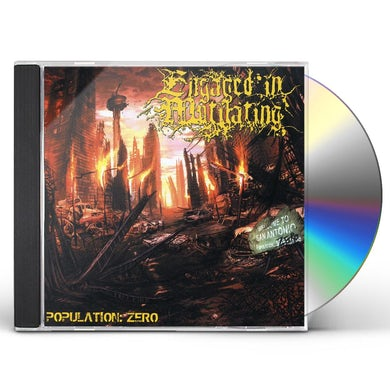 Engaged in Mutilating POPULATION: ZERO CD