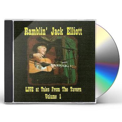 Ramblin' Jack Elliot LIVE AT TALES FROM THE TAVERN CD