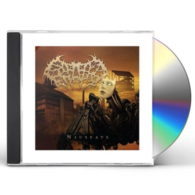 Splattered Entrails NAUSEATE CD