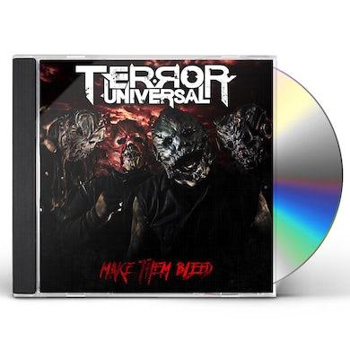 Terror Universal MAKE THEM BLEED CD