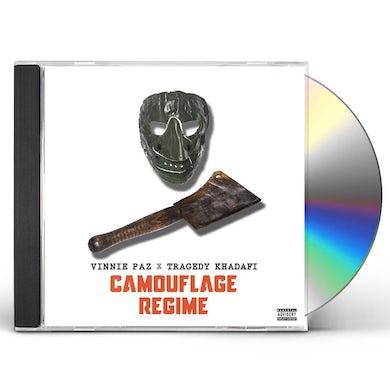 Vinnie Paz X Tragedy Khadafi CAMOFLAUGE REGIME CD