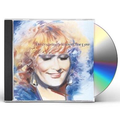 Dusty Springfield VERY FINE LOVE CD