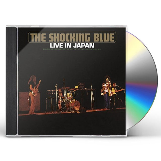 Shocking Blue LIVE IN JAPAN CD