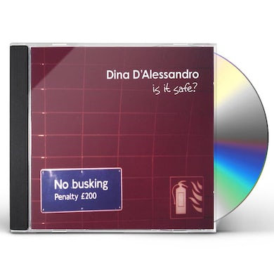 Dina D'Alessandro IS IT SAFE? CD