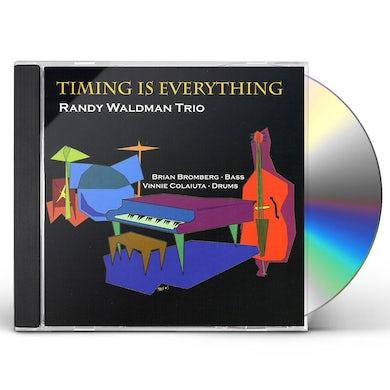 Randy Waldman TIMING IS EVERYTHING CD