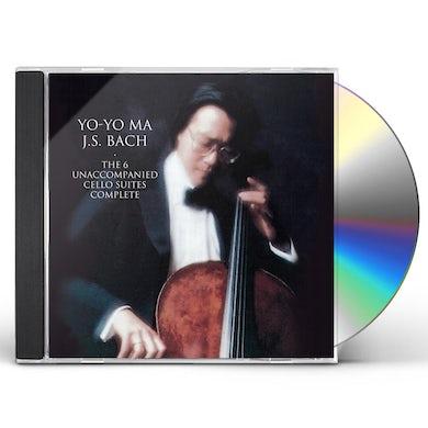 Yo-Yo Ma BACH: UNACCOMPANIED CELLO SUITES CD