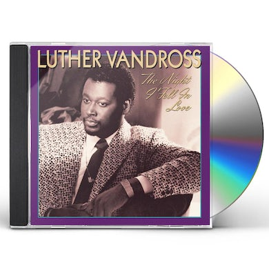 Luther Vandross NIGHT I FELL IN LOVE CD