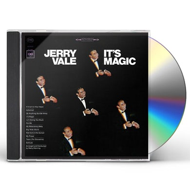 Jerry Vale IT'S MAGIC CD