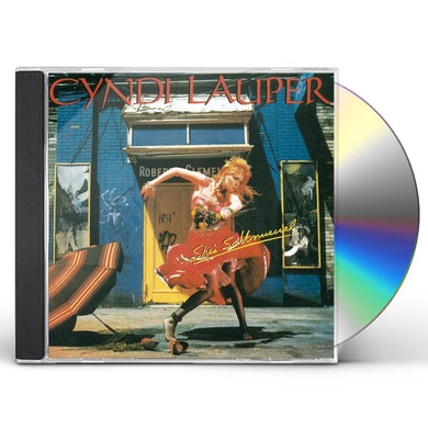 Cyndi Lauper SHE'S SO UNUSUAL CD
