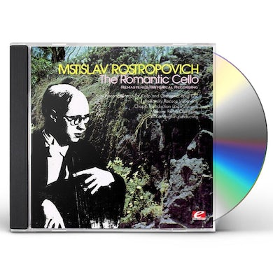 Mstislav Rostropovich ROMANTIC CELLO CD