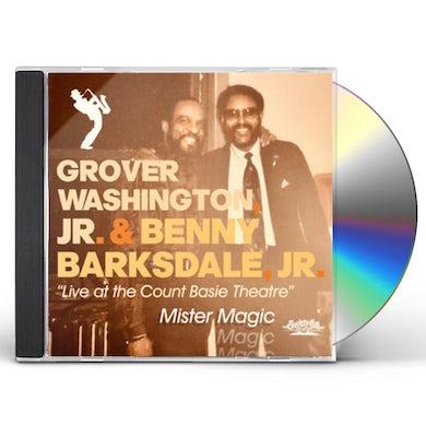 GROVER WASHINGTON JR. / BENNY BARKSDALE JR. MISTER MAGIC - LIVE AT THE COUNT BASIE THEATRE CD
