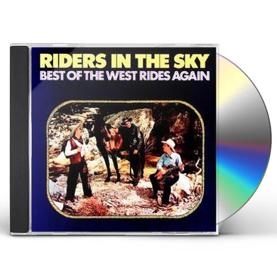 Riders In the Sky BEST OF THE WEST RIDES AGAIN CD