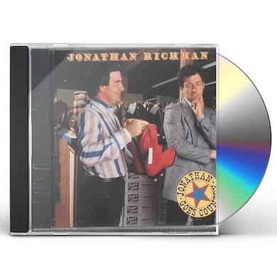 Jonathan Richman JONATHAN GOES COUNTRY CD