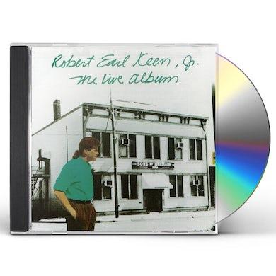 Robert Earl Keen LIVE ALBUM CD
