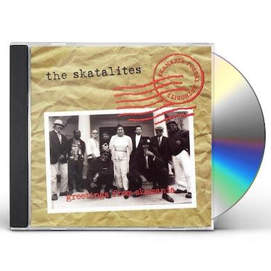 The Skatalites GREETINGS FROM SKAMANIA CD