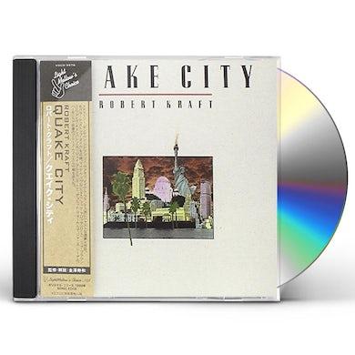 Robert Kraft QUAKE CITY CD
