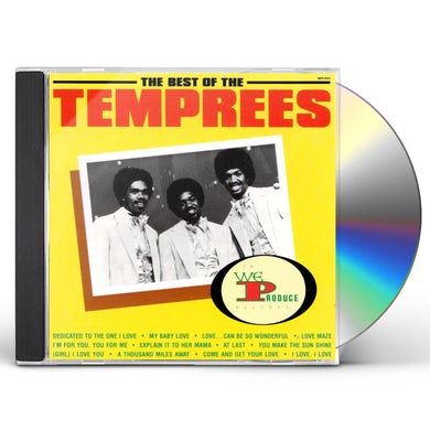 The Best Of The Temprees CD