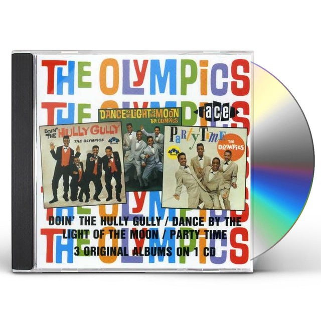 Olympics DOIN THE HULLY GULLY / DANCE BY THE LIGHT OF MOON CD