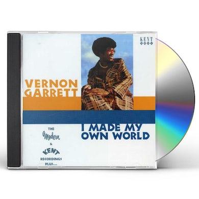 Vernon Garrett I MADE MY OWN WORLD: THE KENT MODERN RECORDINGS CD