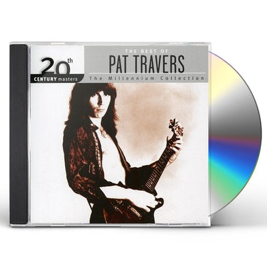 Pat Travers 20TH CENTURY MASTERS: MILLENNIUM COLLECTION CD
