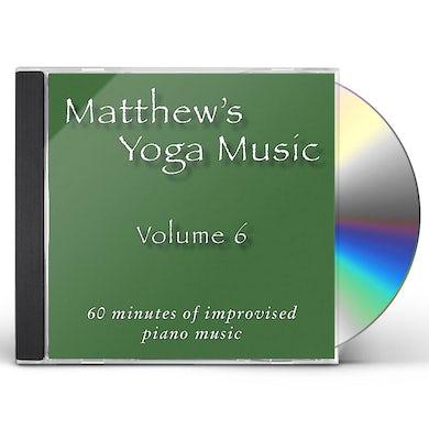 Matt Johnson MATTHEW'S YOGA MUSIC 6 CD