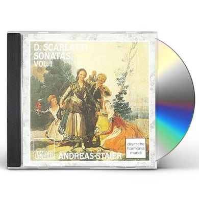 Andreas Staier SONATEN POUR LE CLA CD