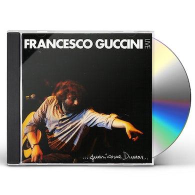 Francesco Guccini QUASI COME DUMAS CD