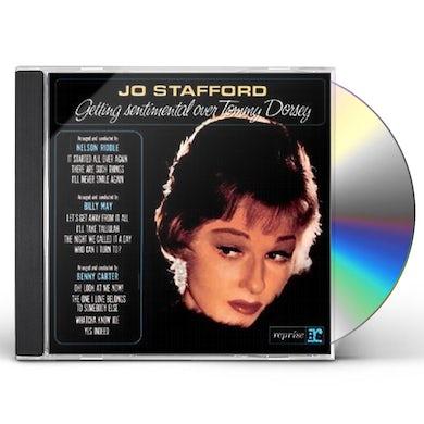 Jo Stafford GETTING SENTIMENTAL OVER TOMMY DORSEY CD