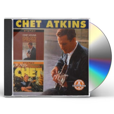 Chet Atkins MUSIC FROM NASHVILLE / MY HOMETOWN CD