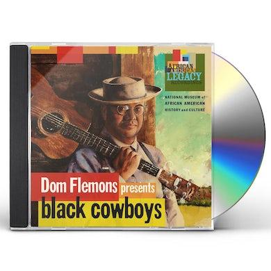 Dom Flemons BLACK COWBOYS CD