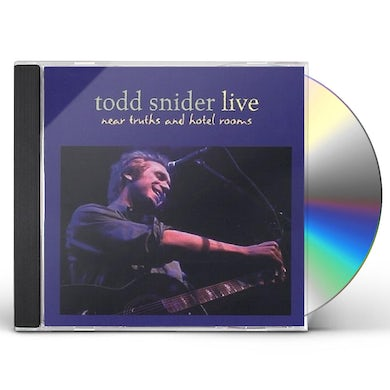Todd Snider NEAR TRUTHS & HOTEL ROOMS LIVE CD
