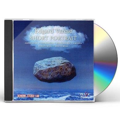 VARESE: SHORT PORTRAIT CD