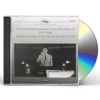 Cage 25 YEAR RETROSPECTIVE CONCERT CD