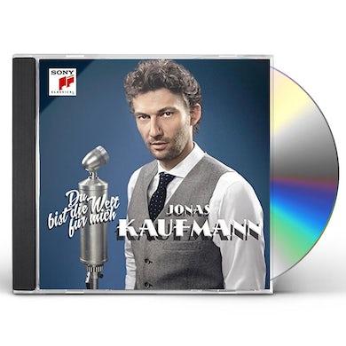 Jonas Kaufmann DU BIST DIE WELT FUR MICH CD