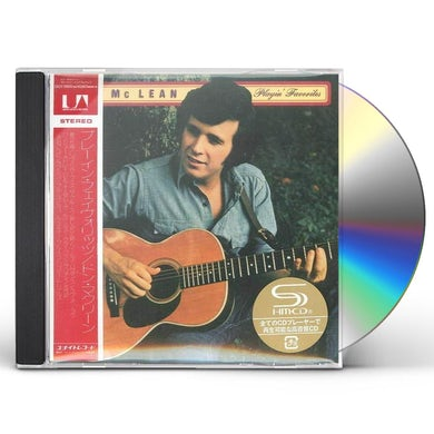 Don Mclean PLAYIN' FAVORITES CD