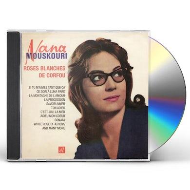 Nana Mouskouri ROSES BLANCHES DE CORFOU CD