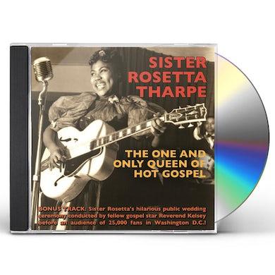 Sister Rosetta Tharpe ONE & ONLY QUEEN OF HOT GOSPEL CD