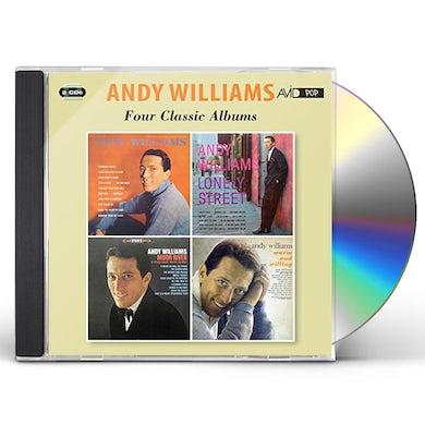ANDY WILLIAMS / LONLEY STREET / MOON RIVER CD